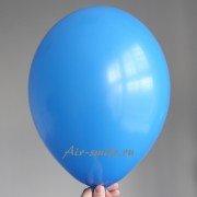 Шарик синего цвета с гелием