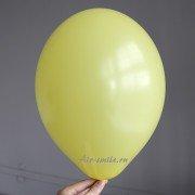 Шарик ярко жёлтого цвета с гелием