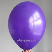 Шарик фиолетового цвета с гелием