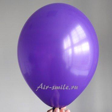 Гелиевый шарик фиолетового цвета