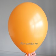 Шарик оранжевого цвета с гелием