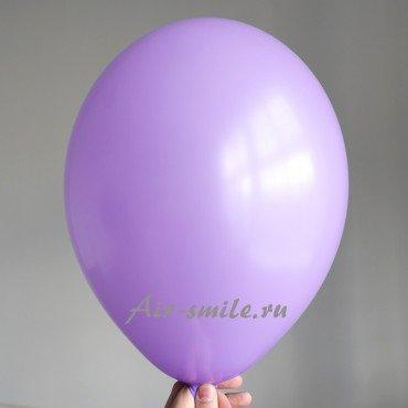Гелиевый шарик сиреневого цвета нежного