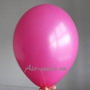 Шарик ярко розового цвета с гелием