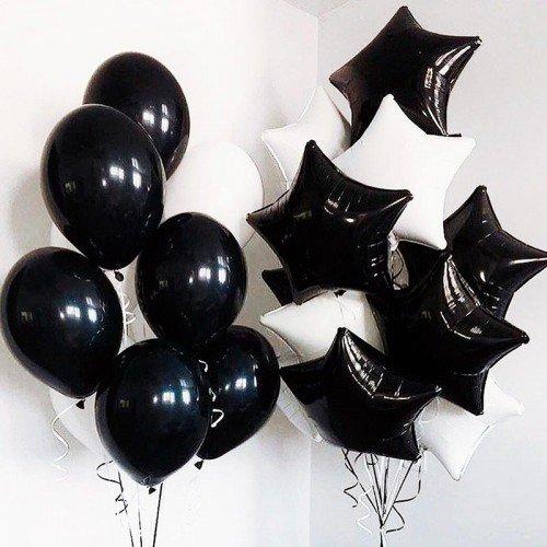 Комплект из воздушных шаров со звездами