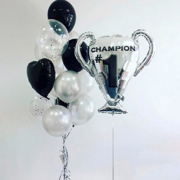 Комплект из воздушных шариков для чемпиона