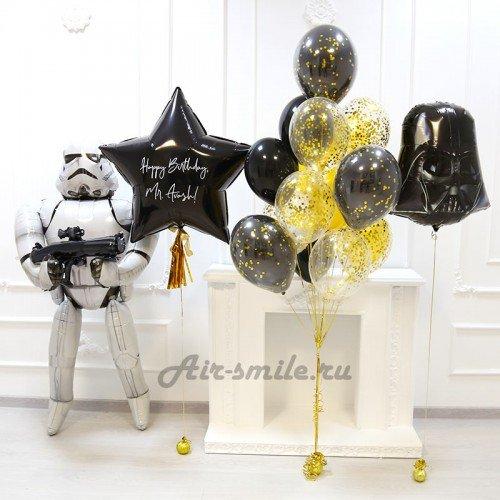 Воздушные шары звёздные войны