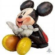 Ходячий воздушный шар Микки сидячий