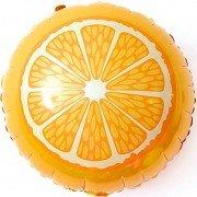 Воздушный шар круг Апельсин