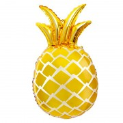 Воздушный шар фигура Ананас цвет золото