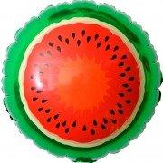Воздушный шар круг Арбуз