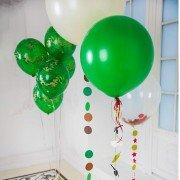 """Композиция из воздушных шаров """"Весна на заставе"""""""