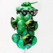 Набор воздушных шаров для военного
