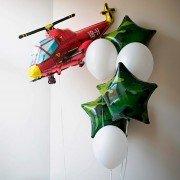 """Набор воздушных шаров из коллекции камуфляж """"В обороне"""""""