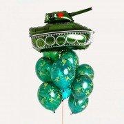 """Набор воздушных шаров камуфляж """"Т-34"""""""