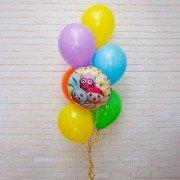 """Набор воздушных шаров """"Красочные Малышарики"""""""