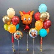 "Композиция шаров ""Три Кота на празднике"""