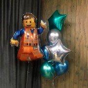 """Набор воздушных шаров """"Лего Эммет"""""""