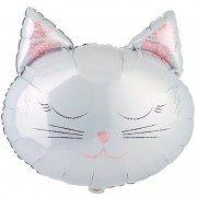 Воздушный шар Котики 2 стороны дизайна
