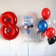 Букеты из шаров на 8 лет с баблз