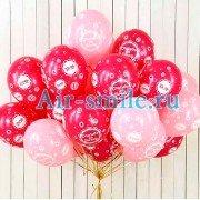 Воздушные шары «Спасибо за дочь»