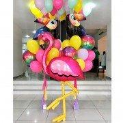 "Комплект шаров из коллекции фламинго ""Яркий карнавал"""