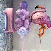 """Набор шаров """"Мой первый фламинго"""""""