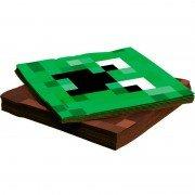 Салфетки бумажные Пиксели 33 см