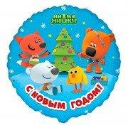 Воздушный шар Ми-Ми-Мишки С Новым Годом