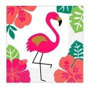 Салфетка Aloha Фламинго 25 см 16 шт