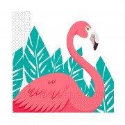 Салфетка Фламинго 33 см 20 шт