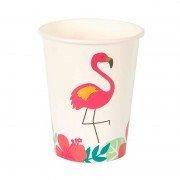Стакан бумажный Aloha Фламинго 250 мл 8 шт