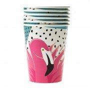 Стакан Фламинго тропики 250 мл 6 шт