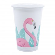Стакан пластиковый Фламинго 200 мл 8 шт