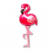 """Шар Фигура """"Фламинго розовый"""" 152 см"""