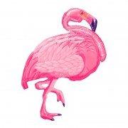 """Шар Фигура """"Фламинго розовый"""" 89 см"""