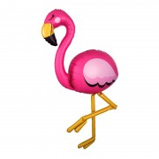 "Шар Фигура ходячая ""Фламинго розовый"""