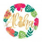 Тарелка Aloha Фламинго 27 см 8 шт