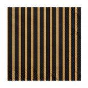 """Салфетка из коллекции """"Black&Gold"""" Линии 33 см 20 шт"""
