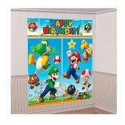 Декорация Супер Марио 165x190 см