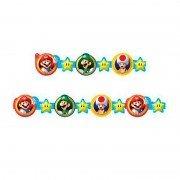 Гирлянда бумажная Супер Марио 290 см