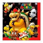 Салфетка Супер Марио 33 см 16 шт