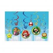 Спираль Супер Марио 46-60 см 12 шт