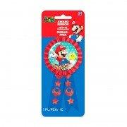 Значок Супер Марио с лентой