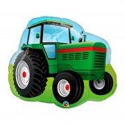"""Шар Фигура """"Зеленый трактор"""""""