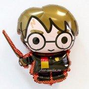 """Шар фигура """"Гарри Поттер с волшебной палочкой"""""""