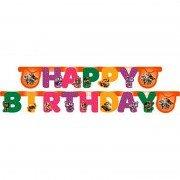 Гирлянда- буквы для Дня Рождения 44 Котёнка