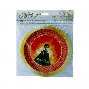 Тарелки из коллекции Гарри Поттер 18 см 6 шт