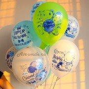 """Воздушные шарики """"Супер мальчик"""""""