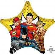 Воздушный шар Лига справедливости звезда