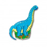"Шар фигура ""Динозавр голубой"""